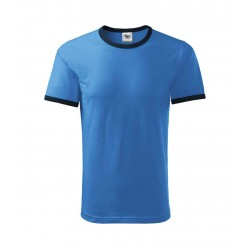 TRICOU DUO COLOR UNISEX BLEU