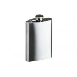 STICLA METALICA GENTLEMAN'S FLASK ARGINTIU