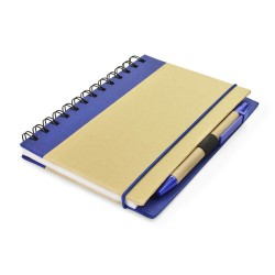 AGENDA NOTES PERSONALIZATA ECO FRIENDLY CU PIX ALBASTRU