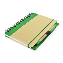 AGENDA NOTES PERSONALIZATA ECO FRIENDLY CU PIX VERDE