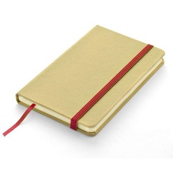 AGENDA NOTES PERSONALIZATA RECYCLE A6 ROSU
