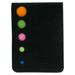 CARNET PERSONALIZAT STICKY NOTES ZEN NEGRU