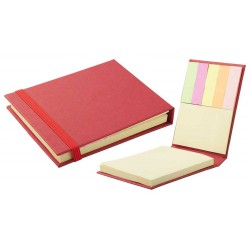 CARNET PERSONALIZAT STICKY NOTES FALI ROSU