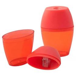 ASCUTITOARE PLASTIC IMPRIMATA TIPED ROSU