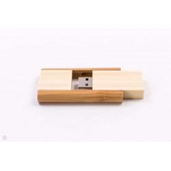 USB LEMN PERSONALIZAT 4GB MURCIA MARO DESCHIS