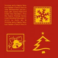 FELICITARE CRACIUN PERSONALIZATA RED CHRISTMAS