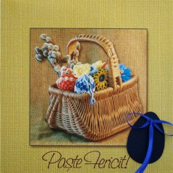 FELICITARE PASTE PERSONALIZATA EASTER DECOR