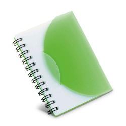 AGENDA NOTES COPERTA PLASTIC SPELT VERDE