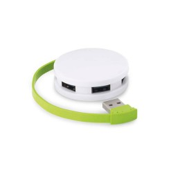 HUB USB 2.0 LOG ALB/VERDE