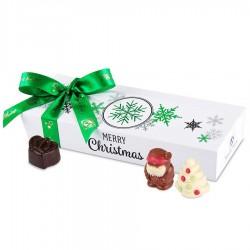BOMBOANE BELGIENE PERSONALIZATE MINI BALLOTIN CHRISTMAS WHITE NO.5