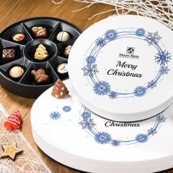 BOMBOANE BELGIENE CHRISTMAS VINTAGE WHITE NO.2