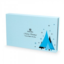 BOMBOANE BELGIENE CHRISTMAS CHOCOLATE BOX BLUE