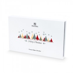 BOMBOANE BELGIENE CHRISTMAS CHOCOLATE BOX WHITE