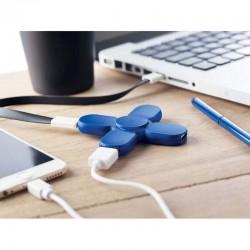 HUB USB SPINNER CAPREZO ALBASTRU