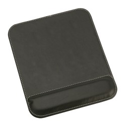 MOUSE PAD PIELE ECOLOGICA GONG NEGRU