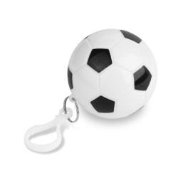 PELERINA PLOAIE UNISA FOLOSINTA FOOTBALL ALB/NEGRU