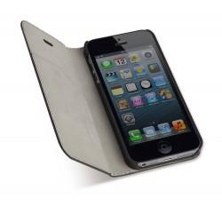 HUSA PROTECTIE PIELE IPHONE 5/5S REEN NEGRU