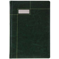 AGENDA PERSONALIZATA NOTES MICHIGAN A5 VERDE