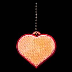 BRELOC REFLECTORIZANT LOVE ROSU