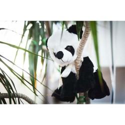 JUCARIE PLUS PANDA BEAR ALB/NEGRU