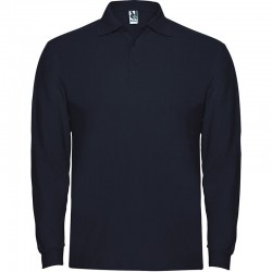 TRICOU LONG POLO BARBATI BLEUMARIN