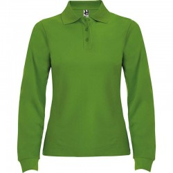 TRICOU LONG POLO DAMA VERDE