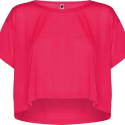TOP OVERSIZE CELLA, ROZ FLUORESCENT