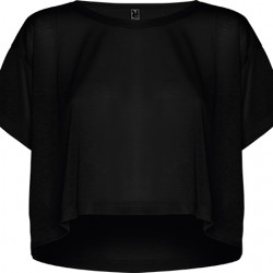 TOP OVERSIZE CELLA, NEGRU
