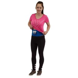 CENTURA FITNESS BODY SHAPER ALBASTRU