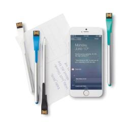 PIX CU USB 4GB SI TOUCH PEN FULL TECH ALBASTRU