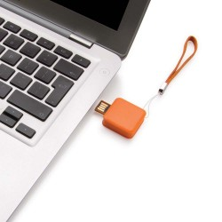 BRELOC USB PERSONALIZAT 8GB STOPP PORTOCALIU