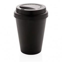 PAHAR DE CAFEA REUTILIZABIL 300ML AMIGO NEGRU