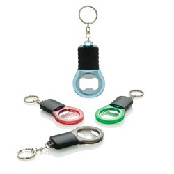 BRELOC PERSONALIZAT DESFACATOR BOTTLE LIGHT NEGRU